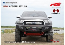 FRONT BULL BAR: FORD RANGER T6FL (FACELIFT)