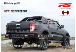 REAR STEEL BUMPER MX202: FORD RANGER T6