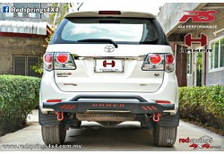 REAR STEEL BAR: TOYOTA FORTUNER