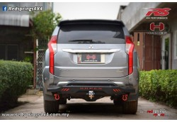 REAR STEEL BAR: MITSUBISHI PAJERO SPORT