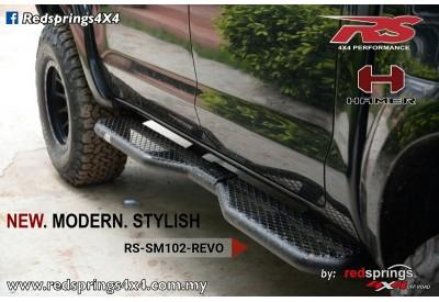 mesh wire side steps toyota hilux revo rh redsprings4x4 com my Toyota Revo Hilux Interior Toyota Hilux Revo 3.0